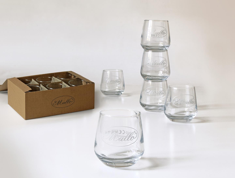 Il Mallo - Set bicchieri serigrafati